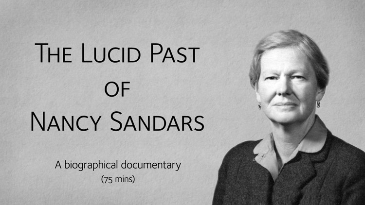 The Lucid Past of Nancy Sandars